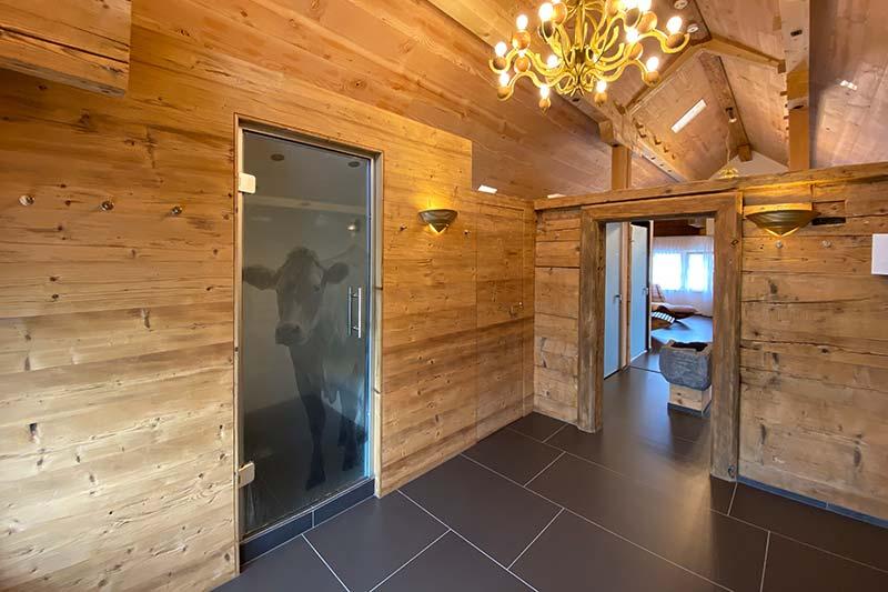 Appenzelleragenda - Boutique Hotel Bären Gonten, Dampfbad
